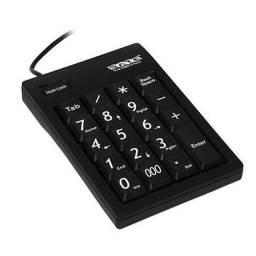 Teclado Numérico Dual USB 2.0 Ports com 20 Teclas