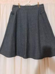 Saia de lã feminina Rabusch tamanho 44