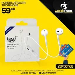 Fone de iPhone Bluetooth Novo