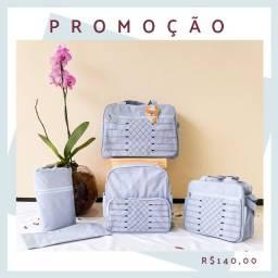 Kit Bolsas Maternidade Para Bebê Barata Promoção