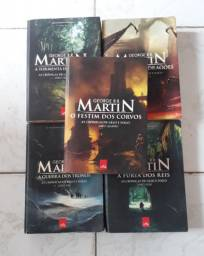 Kit completo de George r.r Martin