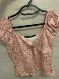 Título do anúncio: blusa de florzinha