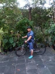 Título do anúncio: Bicicleta caloi aluminio