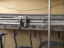Formas metálicas perfil u laminado para pisos em concreto