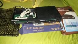 Leitor de cartão pra computador e antena wifi