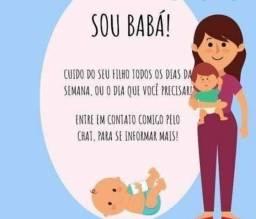 Babá/ baby seeter/acompanhante idosos hospitalar/ cuidadora de idosos