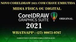 Coreldraw 2021 - Com Licença Permanente -Envio Agora - Ac Picpay ou Pix