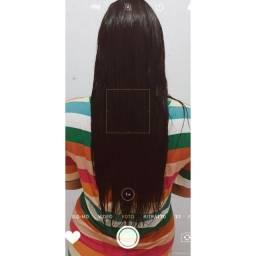 Cabelo mega hair -400 reais a vista ou 450 no cartão.