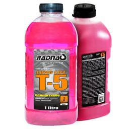 Aditivo Fluído Radiador Rosa Concentrado T5 Radnaq 1 Litro