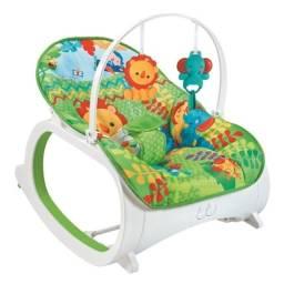 Cadeira de Descanso Bebê Safari Verde 18 Kg Color Baby