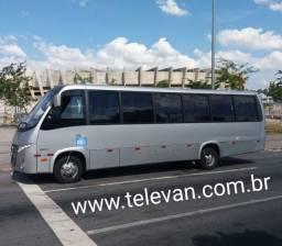Micro-ônibus W9 Marcopolo/Volare Executivo 32 Lugares