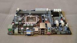 Placa Mãe Ecs Elitegroup H61H2-M12 (socket 1155) DDR3 - Não possui espelho traseiro