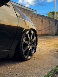 Título do anúncio: Vendo ou troco Rodas Aro 17 modelo Astra SS + Pneus Nankang 185/35/17