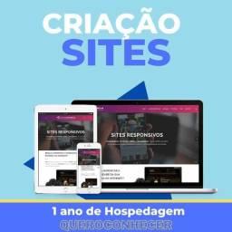 Criação de Sites - Loja Virtual - Landing page