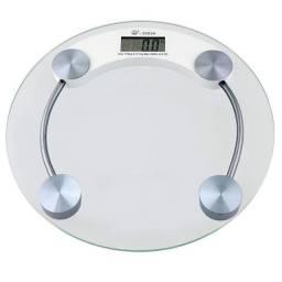 Balança Digital Vidro Temperado 180kg Banheiro Academia Promoção