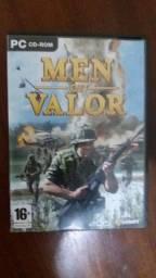 Men Of Valor PC CD 3 CDs-Rom raridade