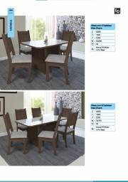 Título do anúncio: Mesa de Jantar New Charme 6 cadeiras Entregamos e Montamos