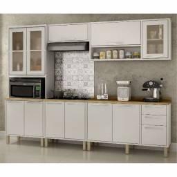 Título do anúncio: Cozinha Paris com balcão cooktop completa - Entrega Imediata em até 12h Grátis Fortaleza