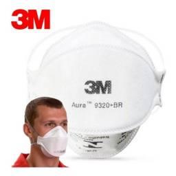 Kit 5 Respirador ( Mascara ) Descartável 3m Aura 9320-br