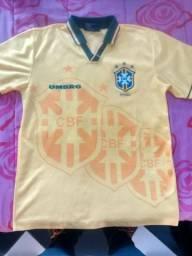 Camisa rara seleção brasileira de 94