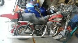 Moto P/ Retiradas De Peças/sucata Harley Davidson Flhtc 1600