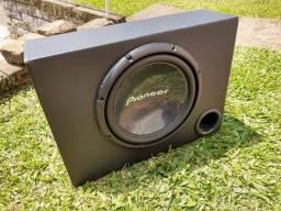 Caixa com Sub Pioneer 12'