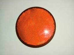 Lanterna onibus olho de gato vermelho