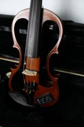 Violino Elétrico 4/4 Profissional Eagle EV744 Ajustado por Luthier