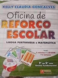 Livro para reforço escolar