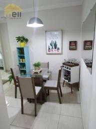 Apartamento com 2 dormitórios à venda, 57 m² por R$ 140.000,00 - Jardim Itapura - Presiden