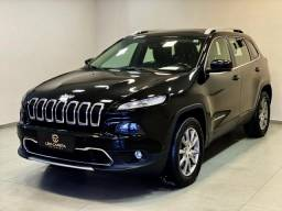 Cherokee limited v6 4x4 2014 top + teto. léo careta veículos