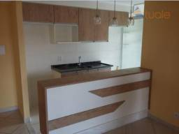 Apartamento com 2 dormitórios à venda, 57 m² por r$ 215.000,00 - parque residencial joão l