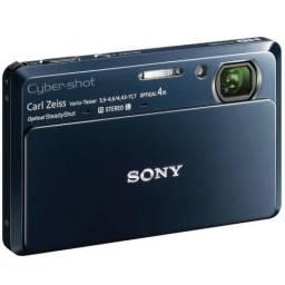 Câmera fotográfica Sony Cyber-Shot TX-7 HD usada - preto