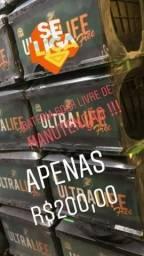 Marca ultra life com 1 ano de garantia !!!! Apenas R$ 200,00