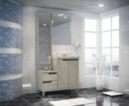 Conjunto de banheiro 90cm c/Granito