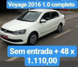 Voyage 2016 1.0 completo sem entrada mais 48 x de 1.110,00 - 2016