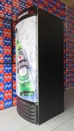 Cervejeira metal frio Porta Fechada