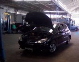Peugeot sansat FX flex 1.4 8 válvulas completo painel frontal batido 5500$