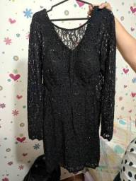 Vestido festa preto - BLUE SHOP