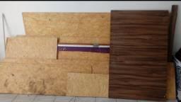 Vendo chapas de madeira de mdf, compensado