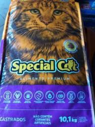 Ração Special Cat Castrados 10,1 Kg adulto Super oferta!!! ´por 95,00