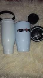 Copo Termico Free Fire+brinde