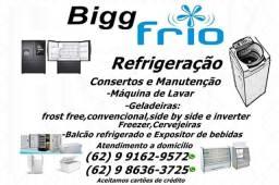 Conserto assistência técnica em geladeira