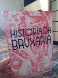 Livro História da Bruxa
