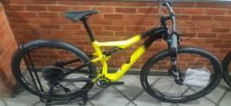 Bicicleta Cannondale Scalpel Carbon 4 M 12v Amarelo/pto A21
