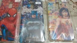 Capinhas para Samsung GalaxyJ8/ Coleção Super Heróis