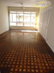 Título do anúncio: Apartamento com 3 dormitórios para alugar, 160 m² por R$ 3.800,00/mês - Boqueirão - Santos