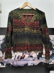 Título do anúncio: Candigan de tricot vazadinho