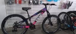 Título do anúncio: Bicicleta Viking Rosa