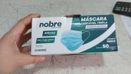 Título do anúncio: Mascara descartável Azul cx 50 und